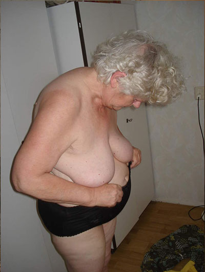 Granny with flabby body amp empty saggy tits with guy 5